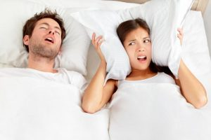 snoring disturbs wife